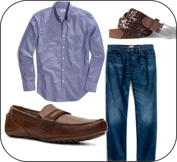 Denim Look 4 men A