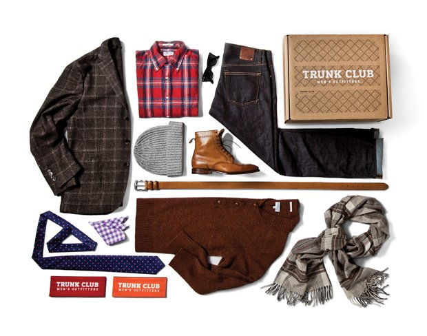 trunk club box contents