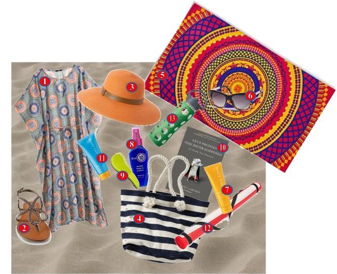 Womens Beach Essentials