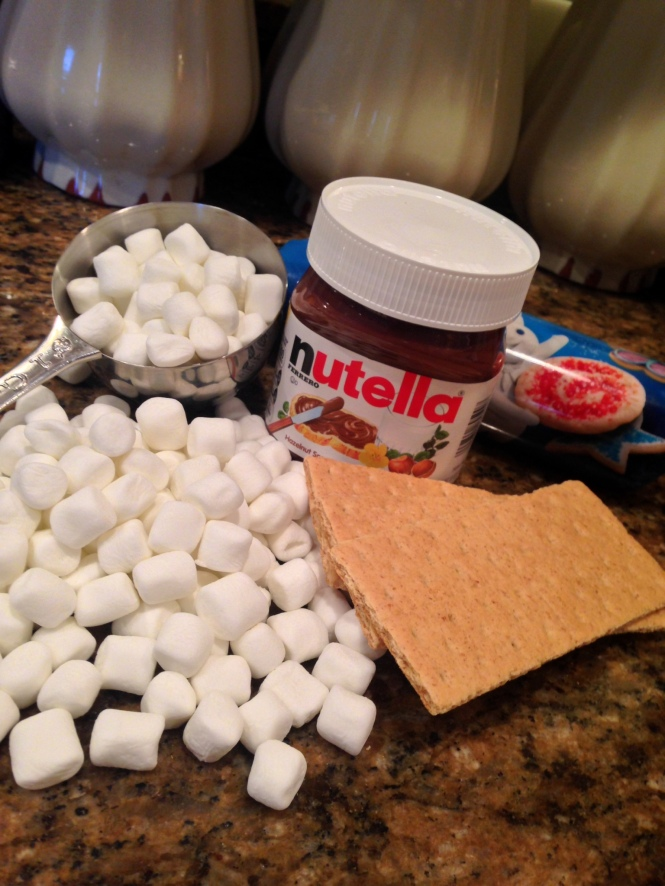 Smores Pizza Ingredients