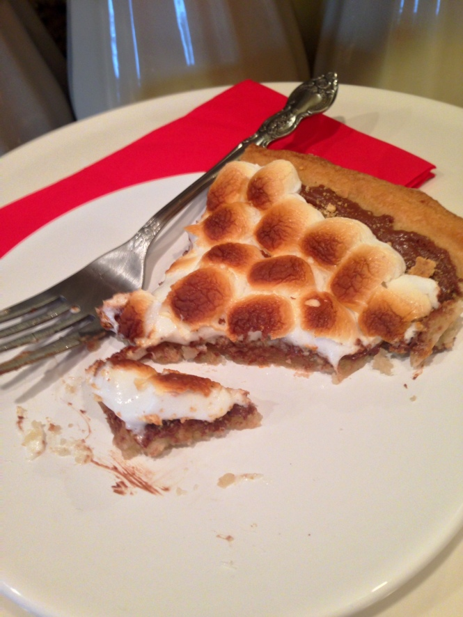 Smores Pizza Slice