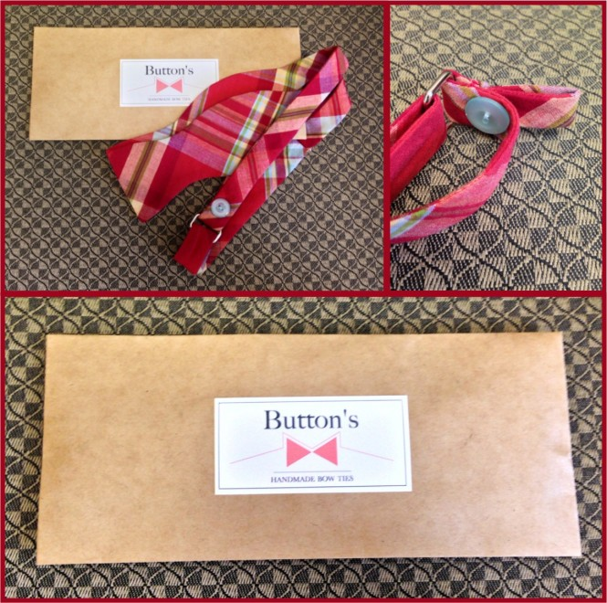 Conveniently packaged and delivered, your high quality bow tie has a built in tab for easy closet hanging.