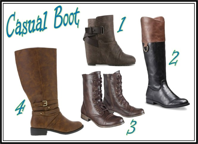 Casual Boot Collage