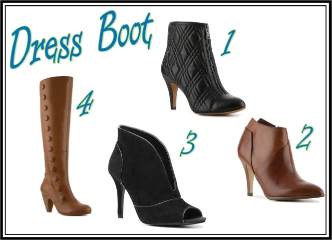 Dress Boot Collage