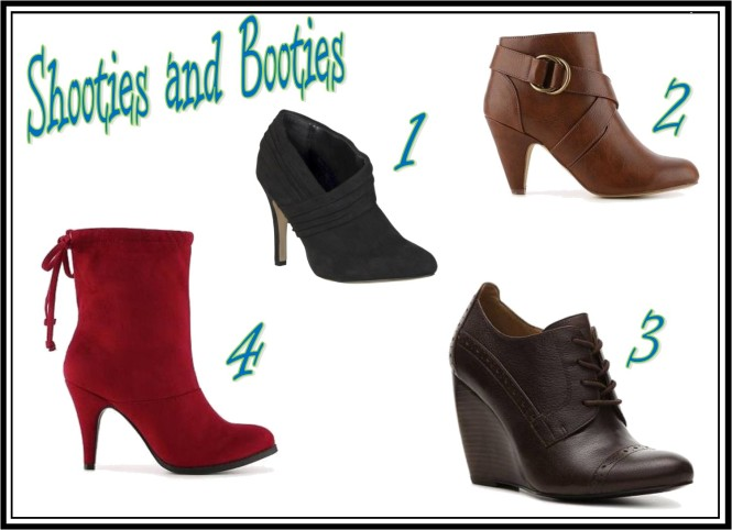 Shooties and Booties Collage