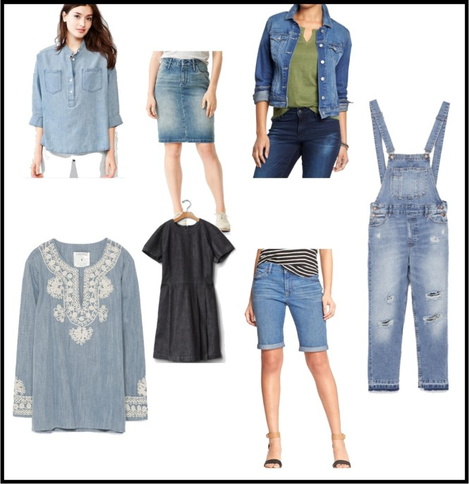 denim pieces
